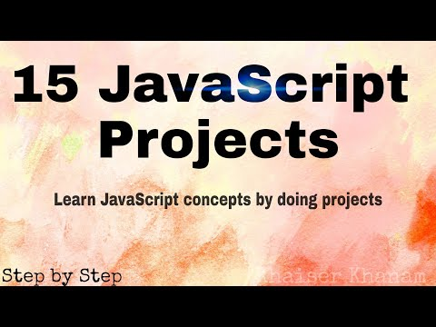 15 Useful JavaScript Projects for Web Developers
