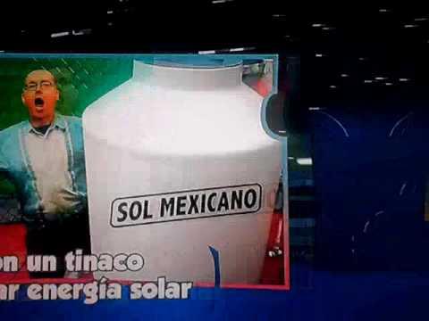 PEPE GORDON: Tinacos para almacenar energia solar.