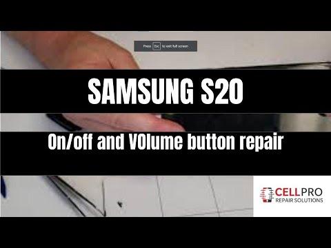 Download Samsung S20 ON/OFF, volume button repair (best Method)