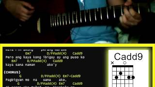 Di Ako Pakboy by JRoa  - Guitar Chords and quick strumming pattern tutorial