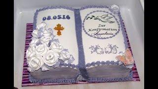 Кемовое оформлени торта Книга.