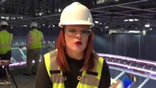 Take A Tour Of The New T-Mobile Arena With Heather Collins