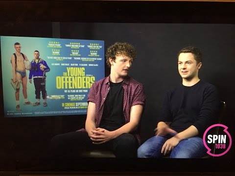 Sarina Bellissimo interviews Chris Walley & Alex Murphy (THE YOUNG OFFENDERS)