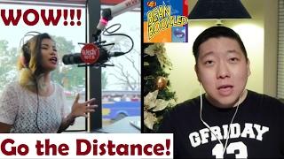 "2017 - Vlog #61- Reaction video - ""Go the distance"" - Katrina Velarde"