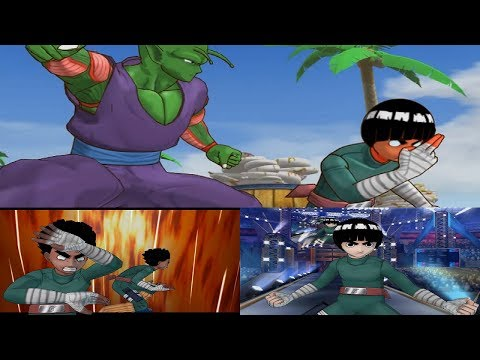 Battle Stadium D.O.N Walkthrough Part 5 - Rock Lee Gameplay 1080p 60 FPS