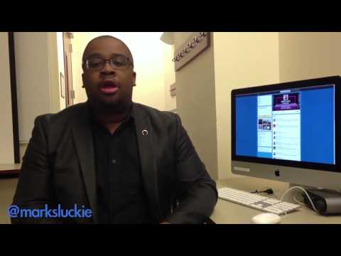 Twitter's Mark Luckie Shares Tips for Student Journalists - YouTube
