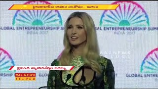 Hyderabad: Ivanka Trump Energetic Speech Live From HICC | Global Entrepreneurship Summit