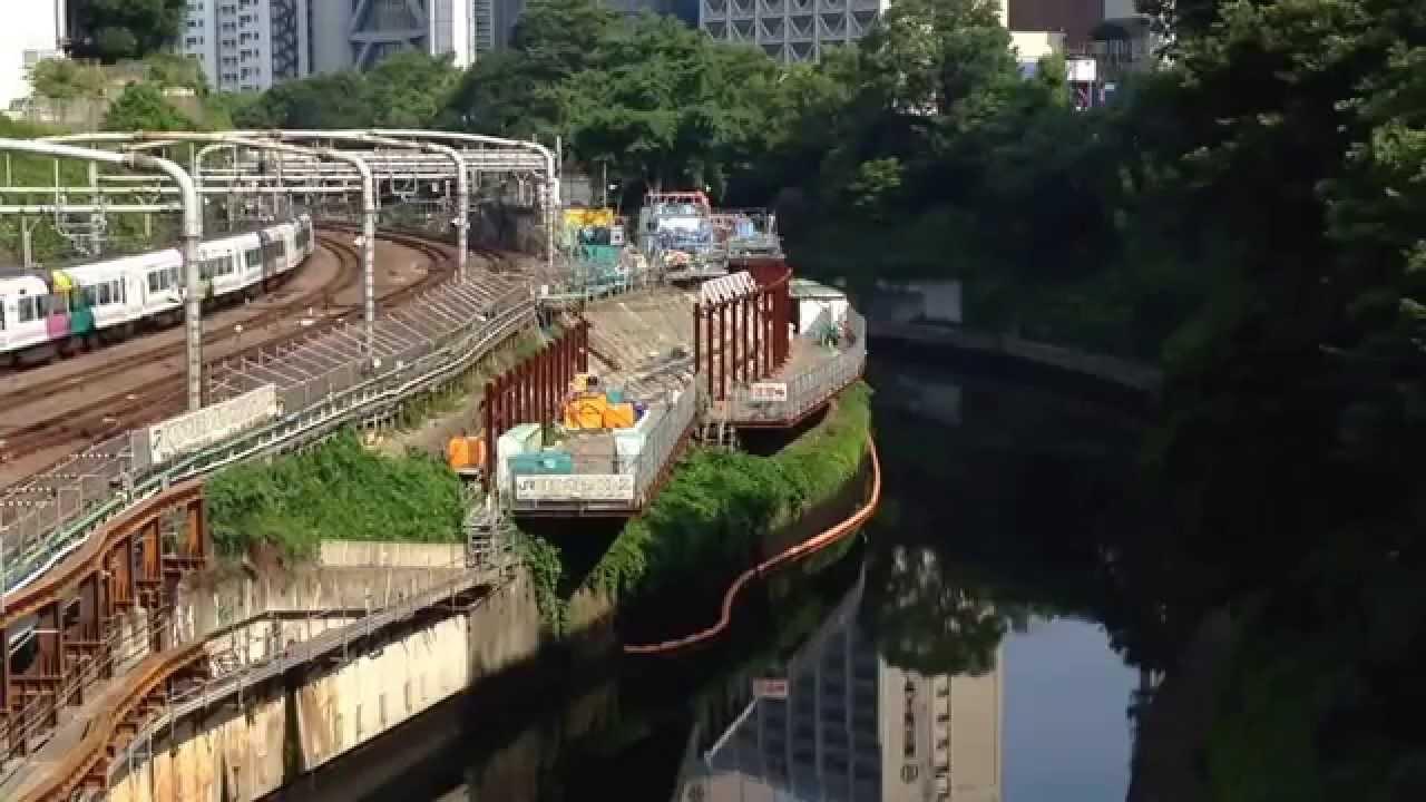 御茶ノ水駅工事A 2015/06/15M - YouTube