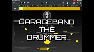GARAGEBAND - The DRUMMER Tutorial & Use In A Track - iPad Demo