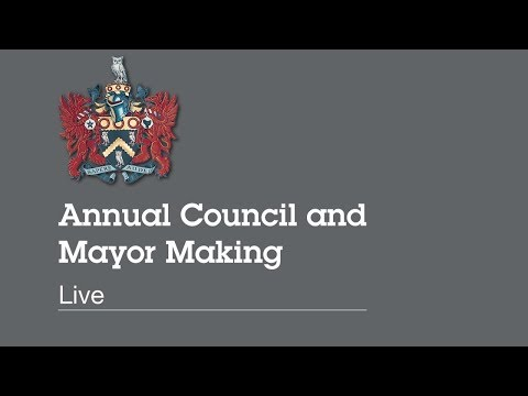Oldham Council Mayor Making 23rd May 2018