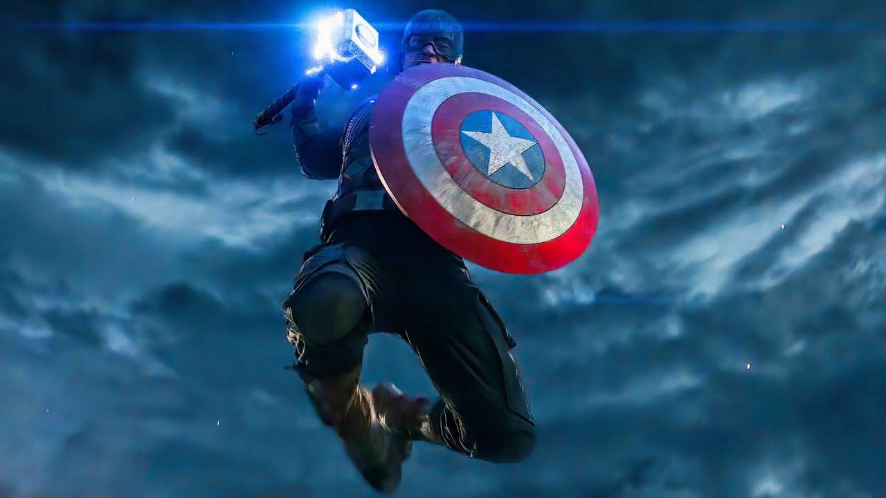 Download Captain America vs Thanos Fight Scene - Captain America Lifts Mjolnir - Avengers: Endgame (2019)