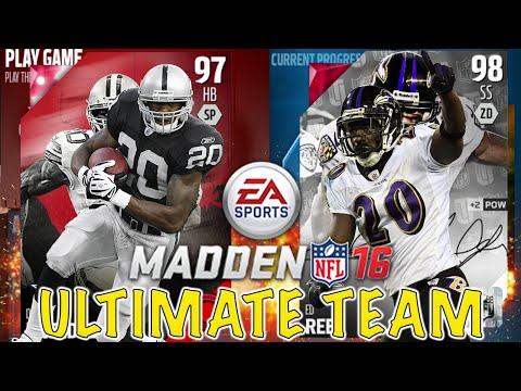CAMPUS HERO DARREN MCFADDEN IS BEAST!! - Madden Ultimate Team 16
