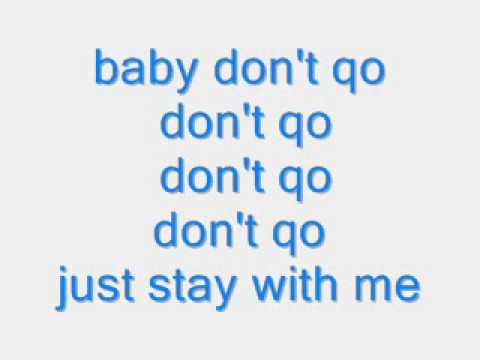 baby dont go trina ft qwote lyrics