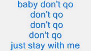 baby dont go trina ft qwote lyrics