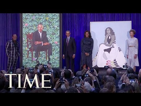 See Barack And Michelle Obama\'s Official Portraits Revealed At The National Portrait Gallery | TIME