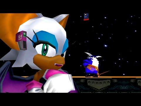 Big The Cat In Sonic Adventure 2 Cutscene - Rouge And Knuckles Cutscene