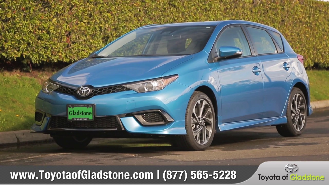 2017 toyota corolla im review from toyota of gladstone youtube. Black Bedroom Furniture Sets. Home Design Ideas