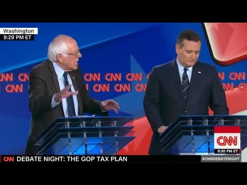 Bernie Sanders OWNS Ted Cruz On Money In Politics