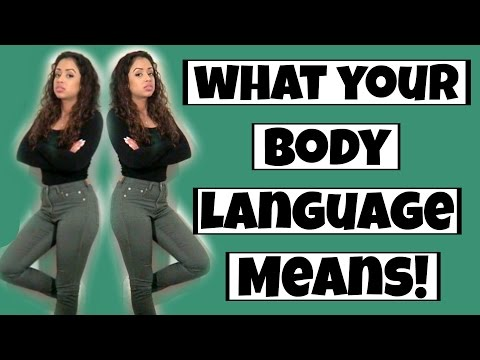 Thumbnail: WHAT YOUR BODY LANGUAGE MEANS!! | Lizzza