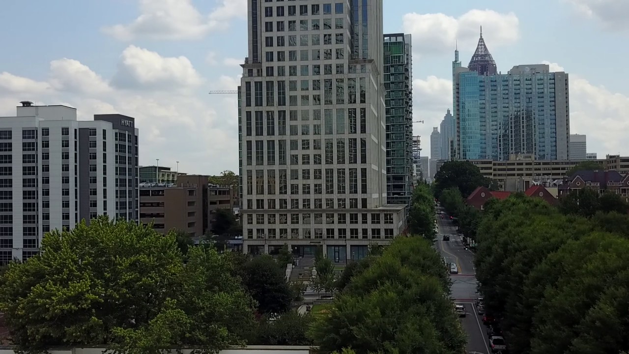 Krystle Chanel Photography - Real Estate Video: 1080 Peachtree St, #1007,  Atlanta, GA Aerial