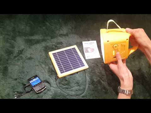 solar lantern with radio by solar solutions indonesia