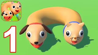 Cats & Dogs 3D - Gameplay Part 1 All Levels 1 - 23 (Android, iOS) #1 screenshot 1