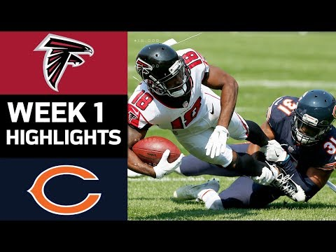 Falcons vs. Bears | NFL Week 1 Game Highlights