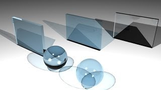 Maya tutorial : Creating various glass types