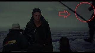 The Last Jedi BTS Trailer Reveals a Man with NO HAND next to Leia?!