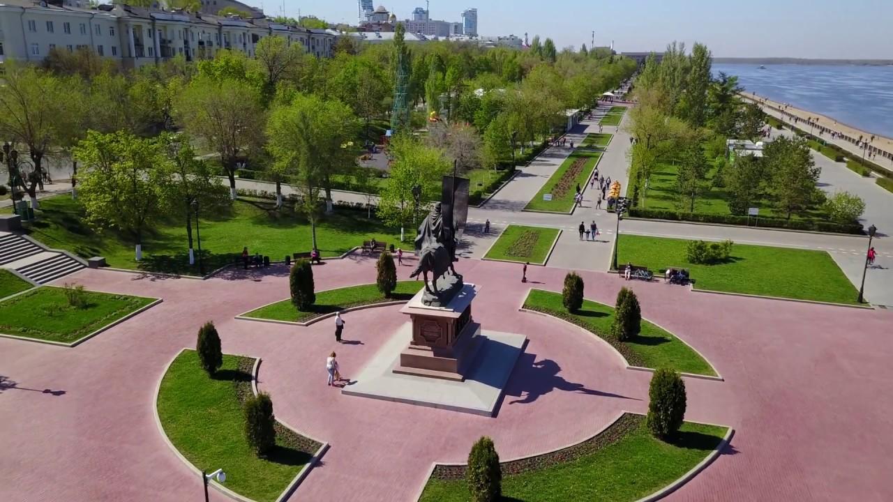 Набережная г. Самара 13.05.2018 - YouTube
