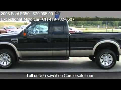 2008 Ford F350 Lariat SuperCab Long Bed 4WD - for sale in De