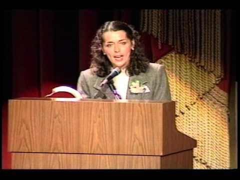 1990 Goldman Environmental Prize Ceremony: Lois Gibbs