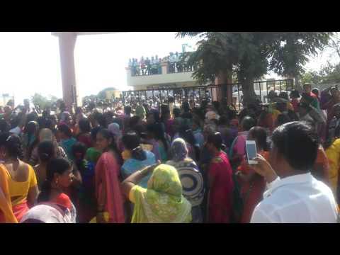 Fight for Darubandi nighoj Tal Parner Dist Ahmednagar Dr Mahendra zaware nighoj