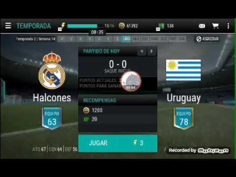 Halcones vs Uruguay fifa mobile