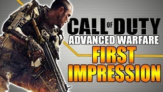 call of duty advanced warfare first impressions bo1 multiplayer