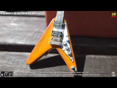 Kelthes Mini Guitars - Gibson Flying V 1998 - FILMIKI O GITARACH 466