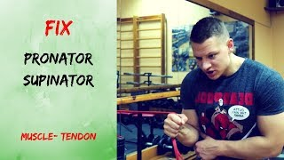 FIX FOREARM PAIN(Get rid of pain in pronator and supinator muscle or tendon)