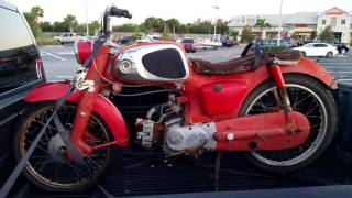 1965 Honda Sport 50 - Attempted Restoration