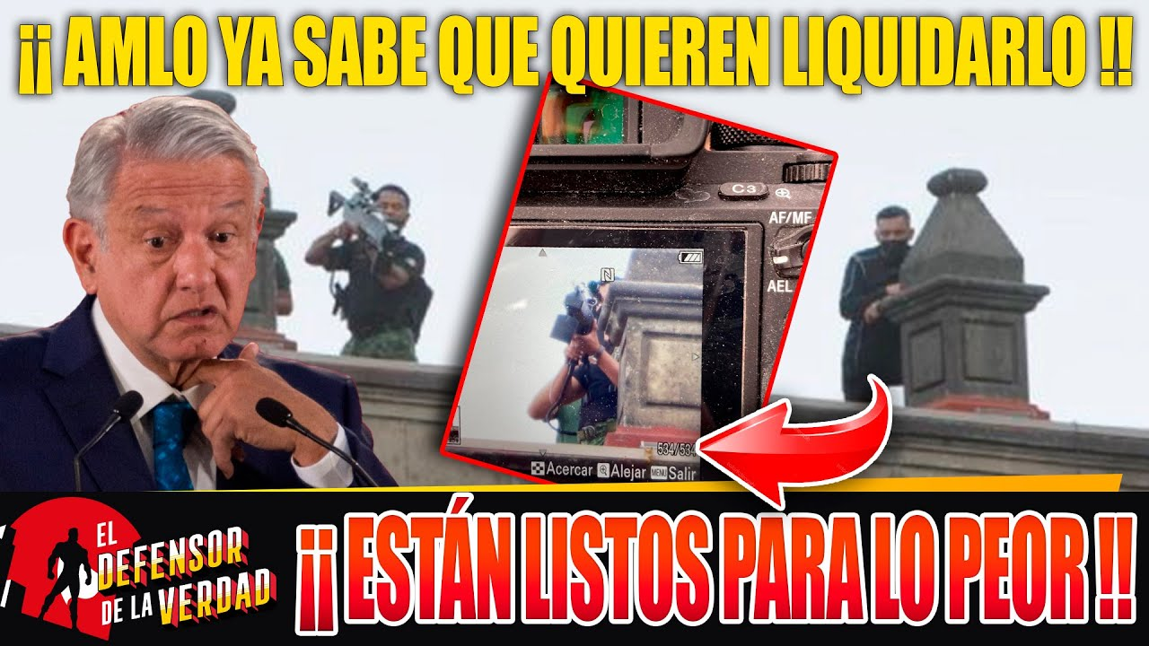 AMLO Denuncia Q 4 Letras Quiseron Aventarle B0mb4s Con Drones!Ejércit0 Se Moviliza y Los Tumba!!