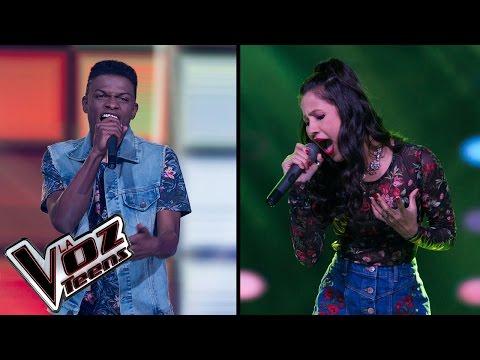 Caliope canta 'Gloria' y Super Boy canta 'Atrévete te te' | Súper Batallas | La Voz Teens