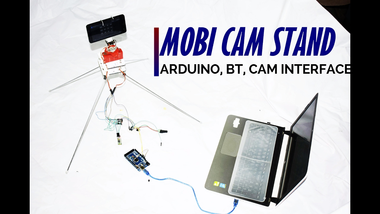 🎥MOBILE CAMERA STAND AT HOME | ARDUINO DIY - YouTube