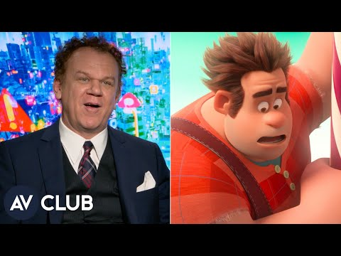 Hearing John C. Reilly's voice in public confuses young Wreck-It Ralph fans