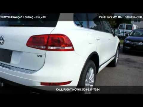 2012 Volkswagen Touareg VR6 Sport w/ Nav - for sale in Brockton, MA 02301