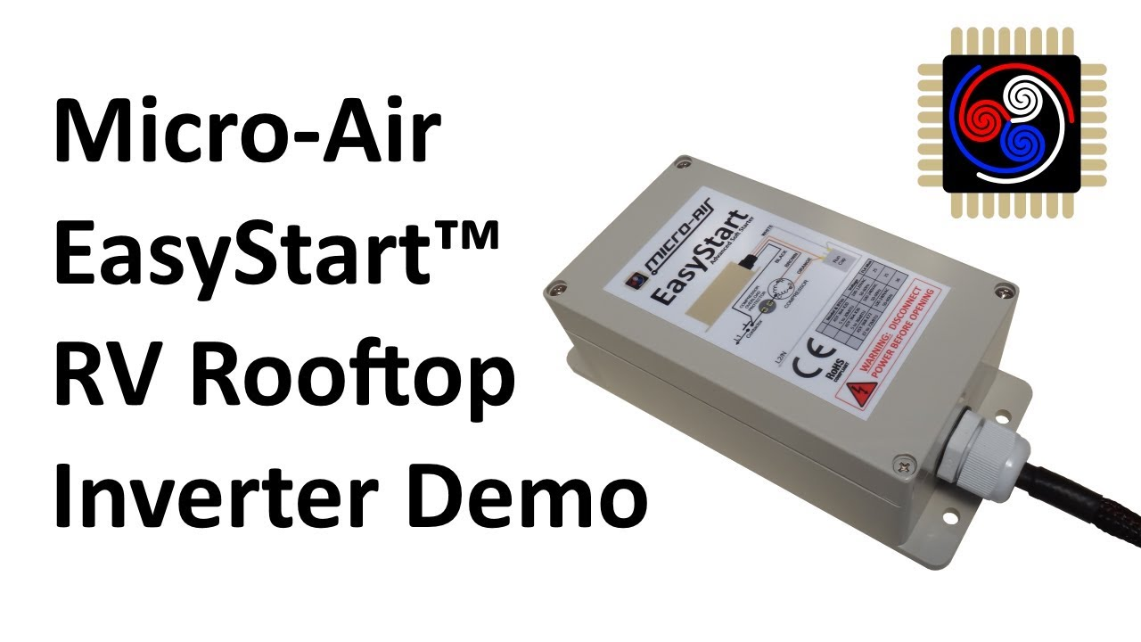 Micro-Air EasyStart Soft Starter Demonstration on Inverter