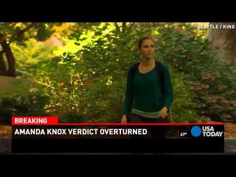 Amanda Knox on verdict: 'I am tremendously relieved'