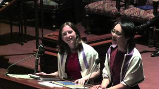 """Oh Freedom/Dayeinu"" Mash-Up, Central Synagogue, March 22, 2013 - Cantors Buchdahl and Katz"