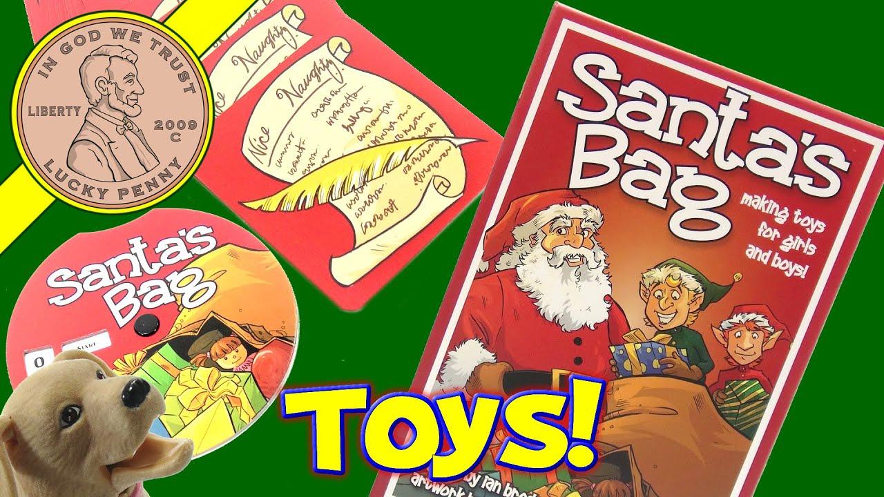 Santa s Bag Making Toys For Girls & Boys Family Game Don t