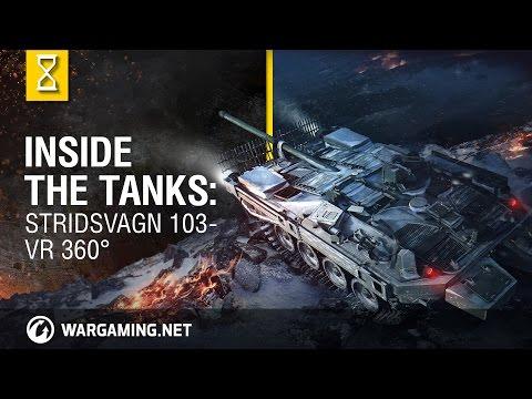 Inside the Tanks: Stridsvagn 103 - VR 360°