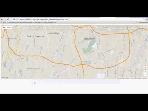 create multiple marker, infowindow and editable infowindow on google maps v3