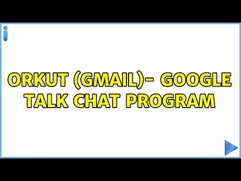 Ubuntu: Orkut (GMail)- Google Talk Chat Program (3 Solutions!!)
